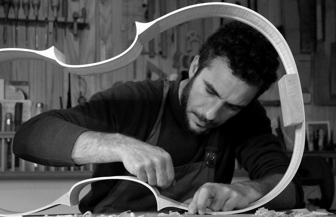 Antoine Cauche - Luthier - Fabrication de violons, altos, violoncelles