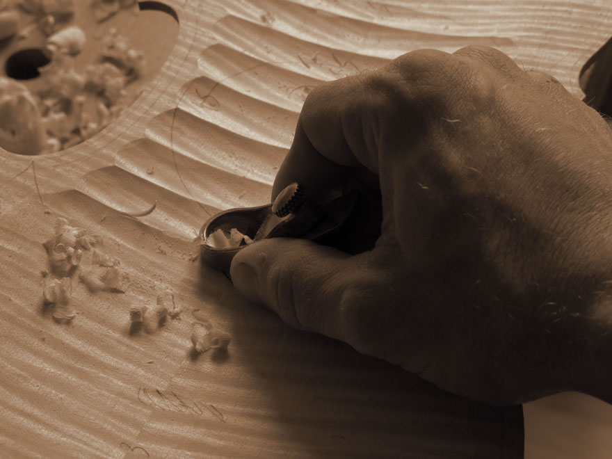 Atelier lutherie - Angers - Fabrication