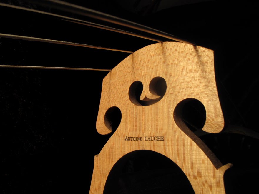 Atelier lutherie - Angers - Chevalet