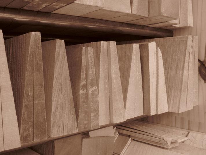 Lutherie - Etape de conception : le choix du bois