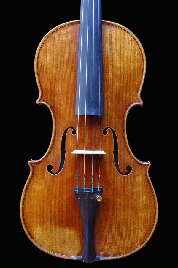 Violin by Antoine Cauche - Front